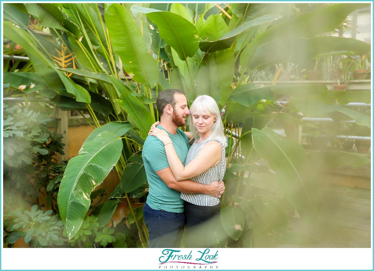 Norfolk Botanical Garden Engagement Session