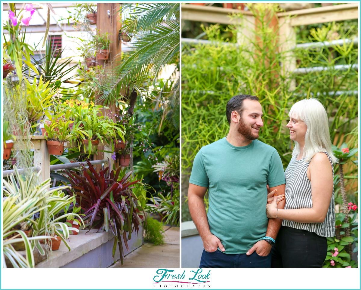Norfolk Botanical Gardens photoshoot
