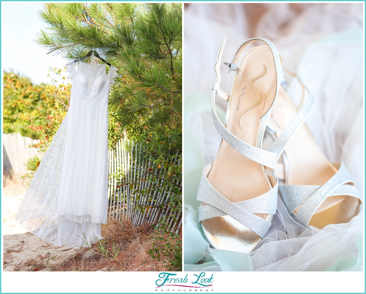 Shifting Sands Beach Wedding Dress