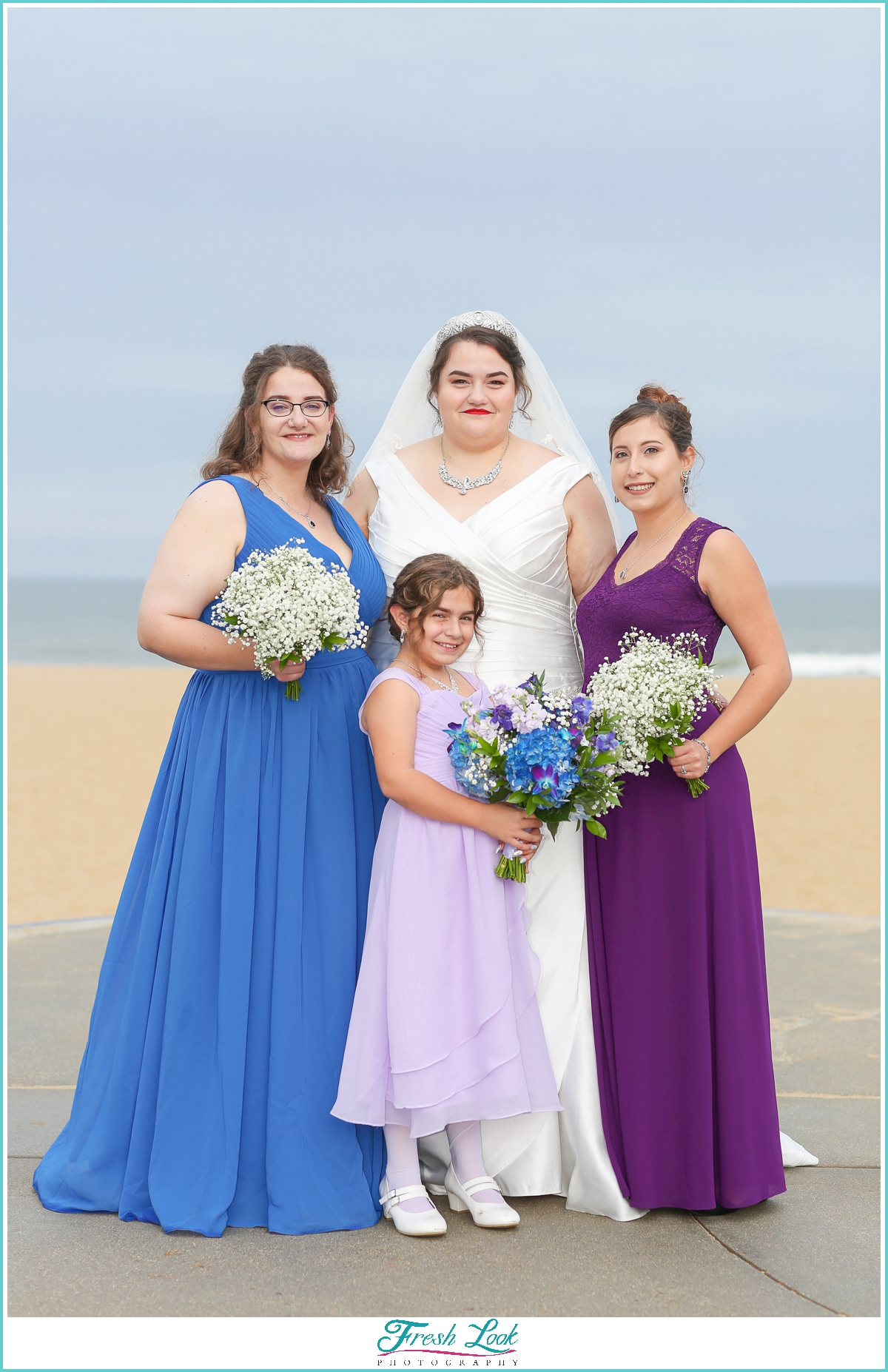 bridal squad photo ideas