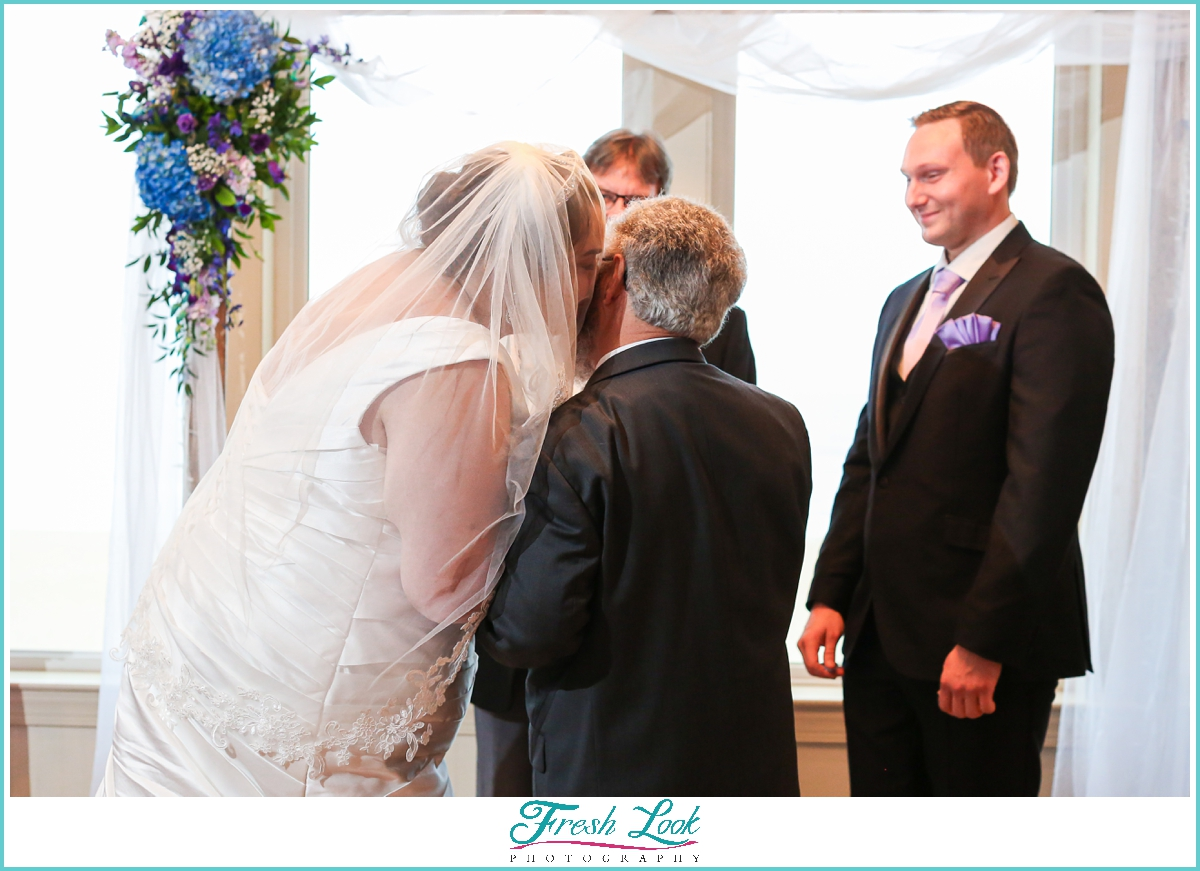 Virginia Beach Wedding Ceremony