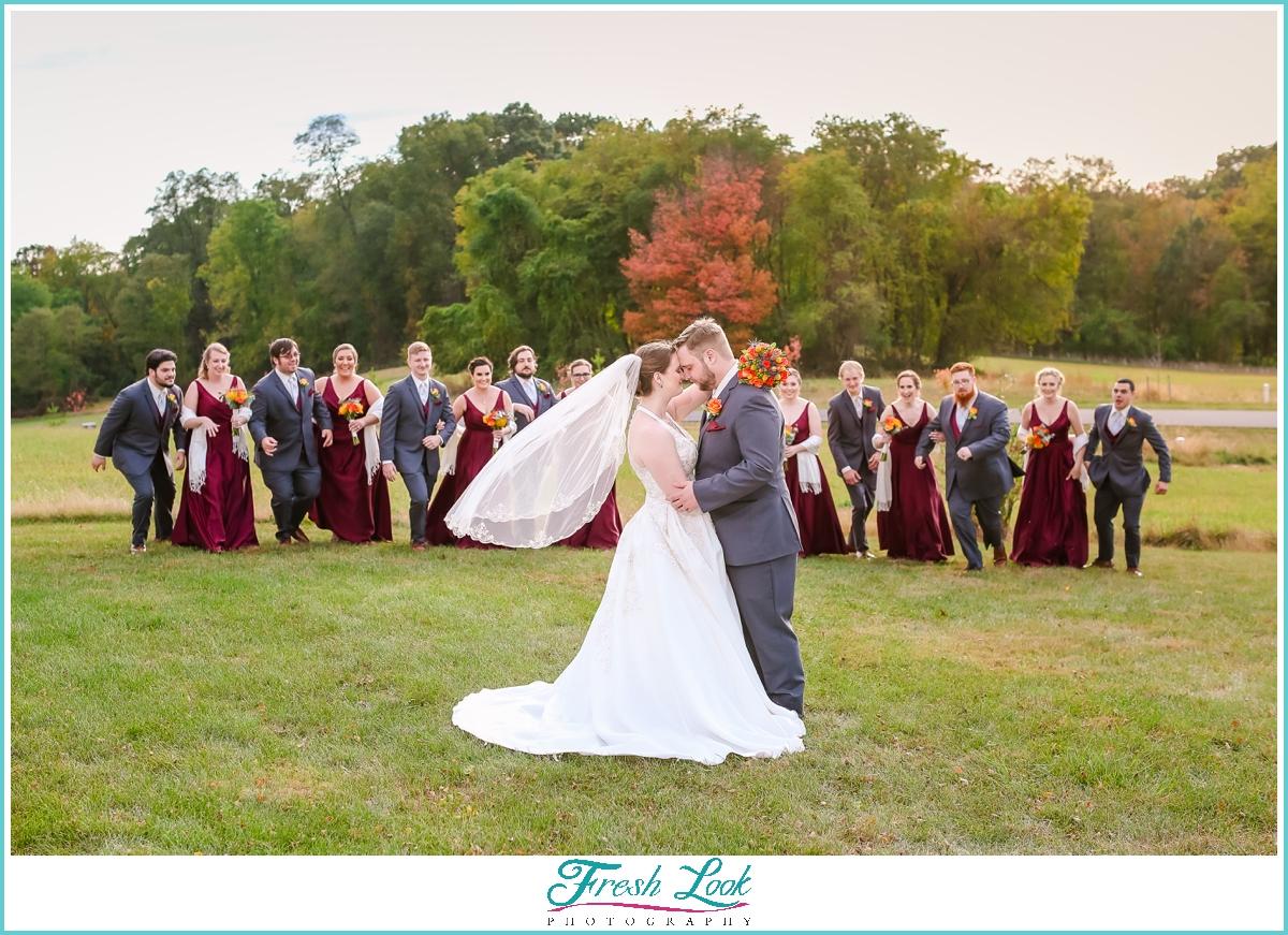 fun bridal party photo ideas