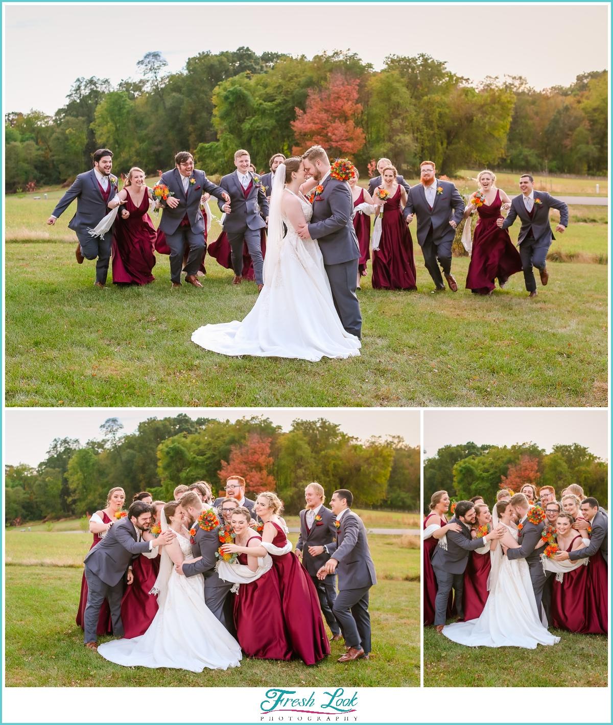 funny bridal party photo ideas