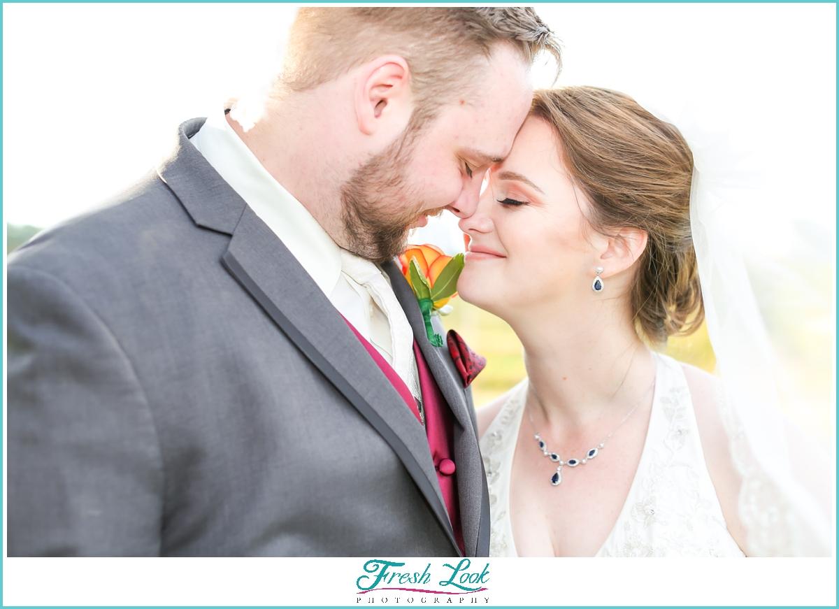 romantic Maryland wedding photography