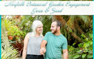 Norfolk Botanical Garden Engagement Session