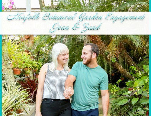 Norfolk Botanical Garden Engagement Session | Jean+Zand