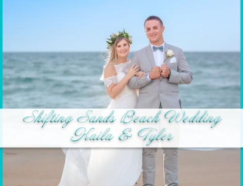 Shifting Sands Beach Wedding | Kaila+Tyler