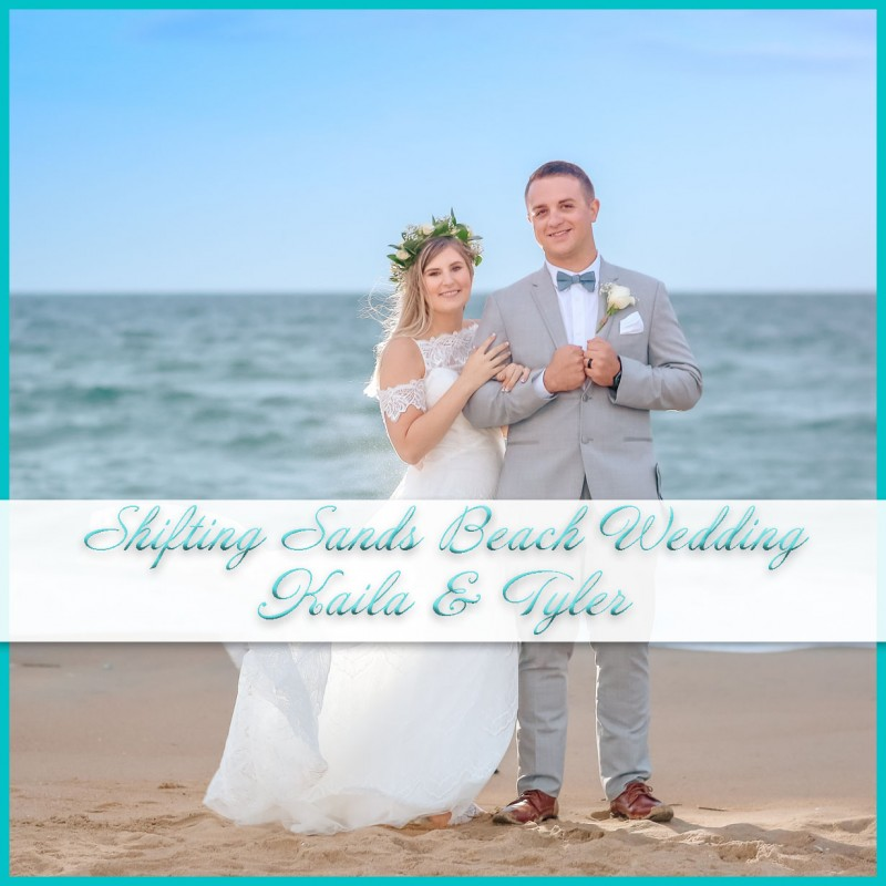 Shifting Sands Beach Wedding