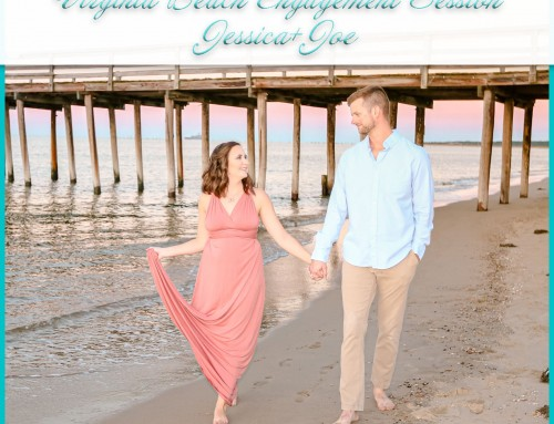 Virginia Beach Engagement Session | Jessica+Joe