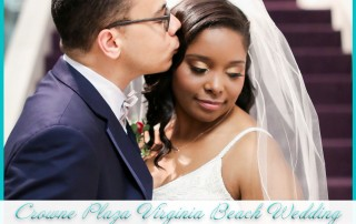 Crowne Plaza Virginia Beach Wedding