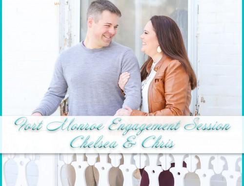 Fort Monroe Engagement Session | Chelsea+Chris