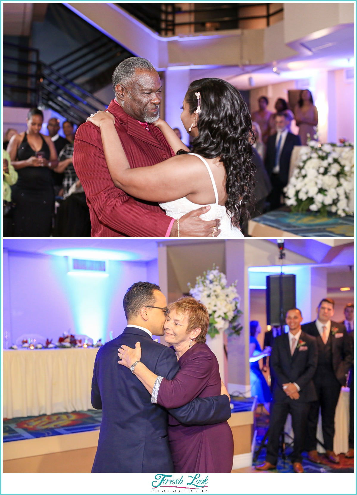 father daughter, mother son first dance