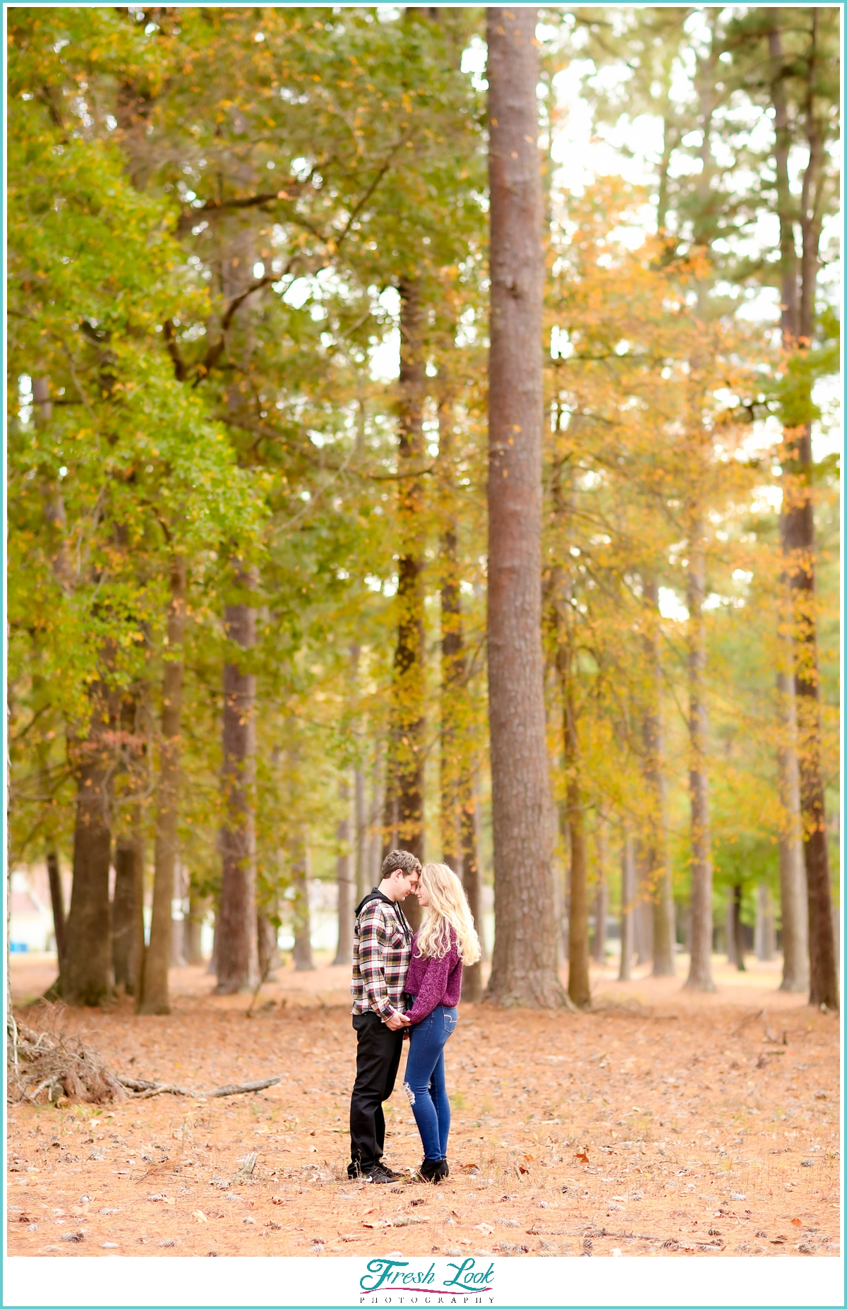 romantic woodsy photoshoot ideas
