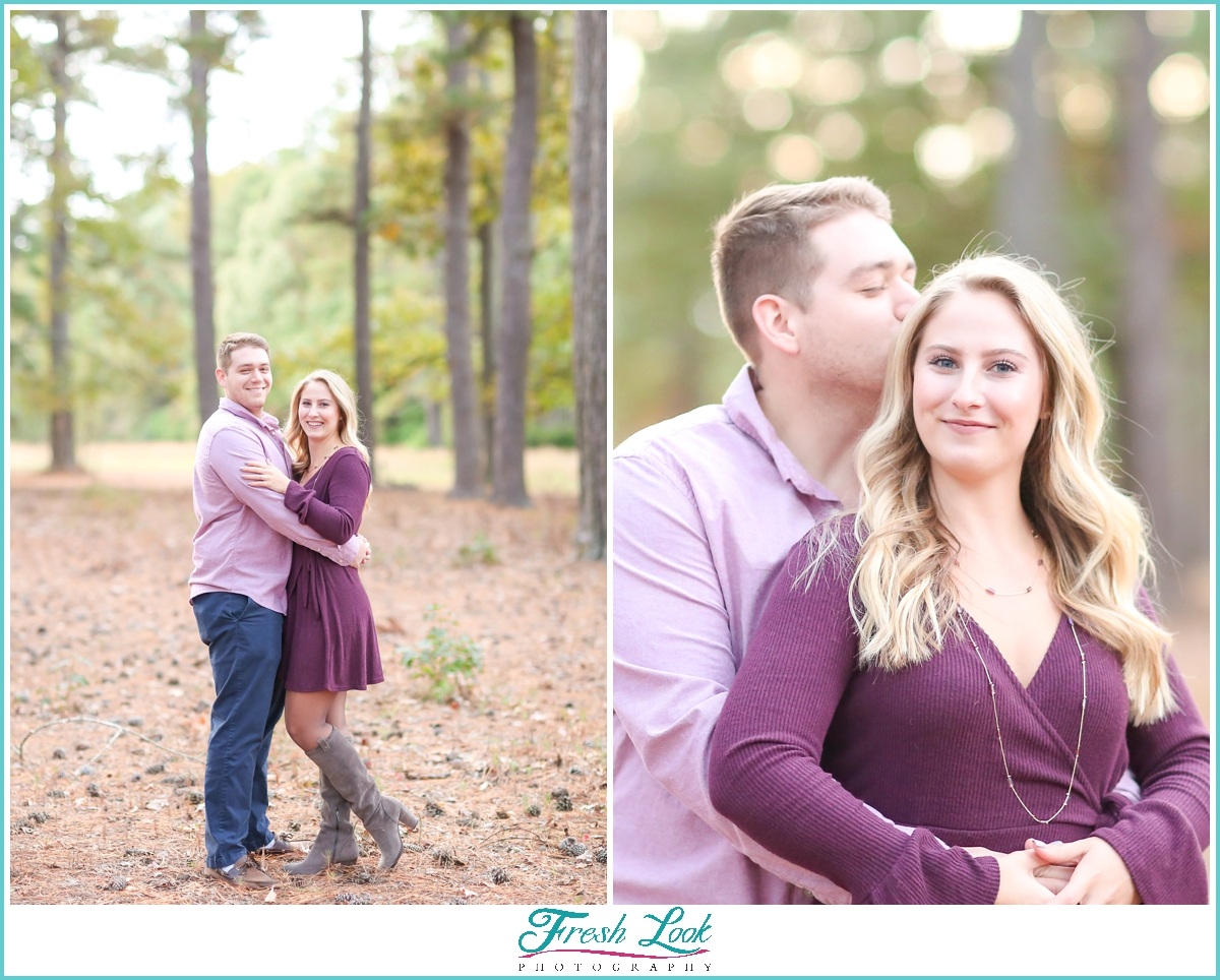 Stumpy Lake engagement photoshoot