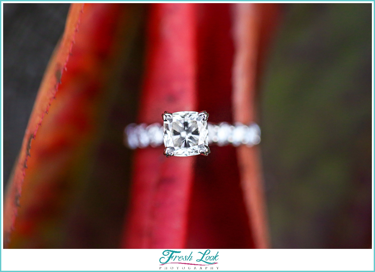 diamond engagement ring photos