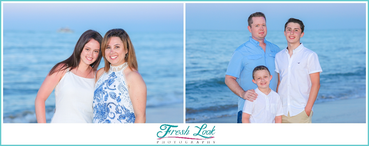 Virginia Beach sunset family photos