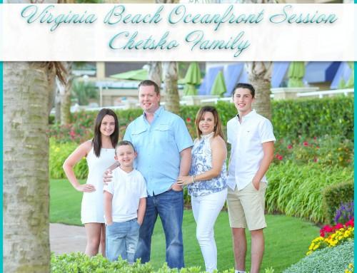 Virginia Beach Oceanfront Family Photos | Chetsko Family