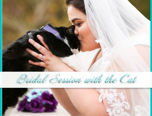 Purrfect Bridal Session with Cat | Regent University