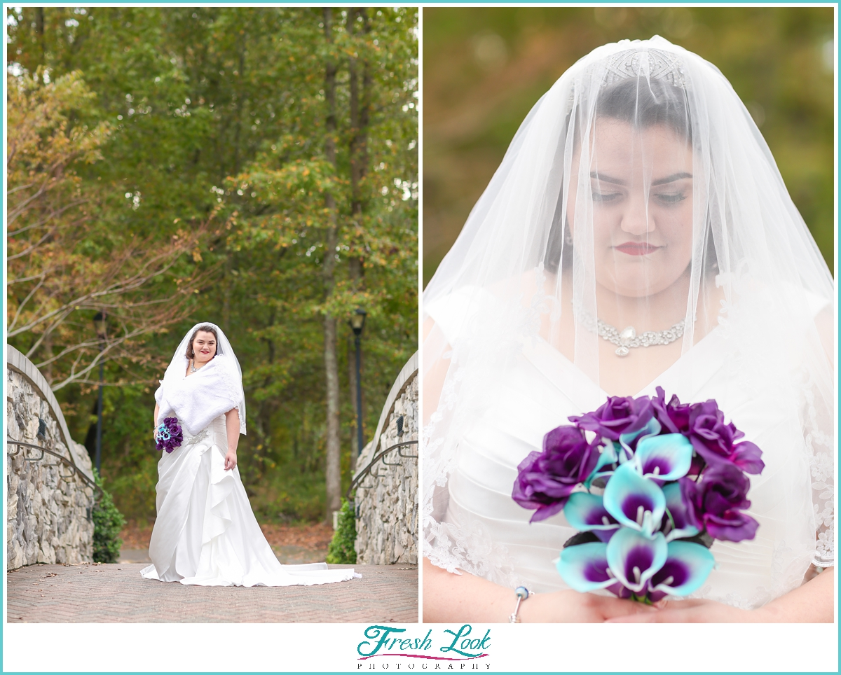 Virginia Beach bridal portraits