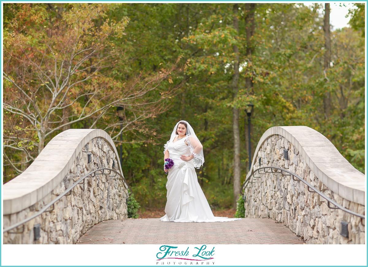 beautiful bride before the wedding
