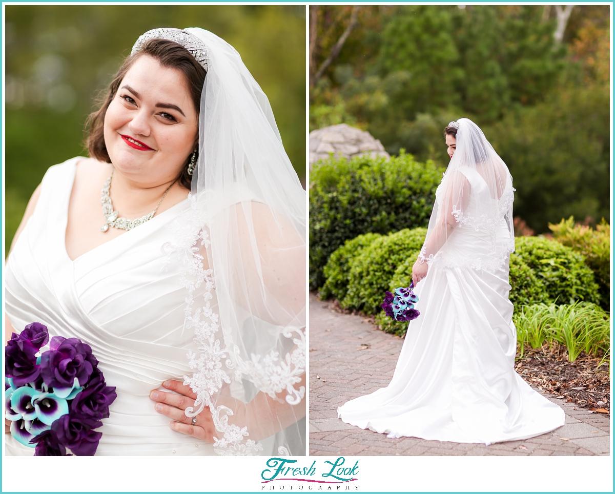 Virginia Beach bridal photoshoot