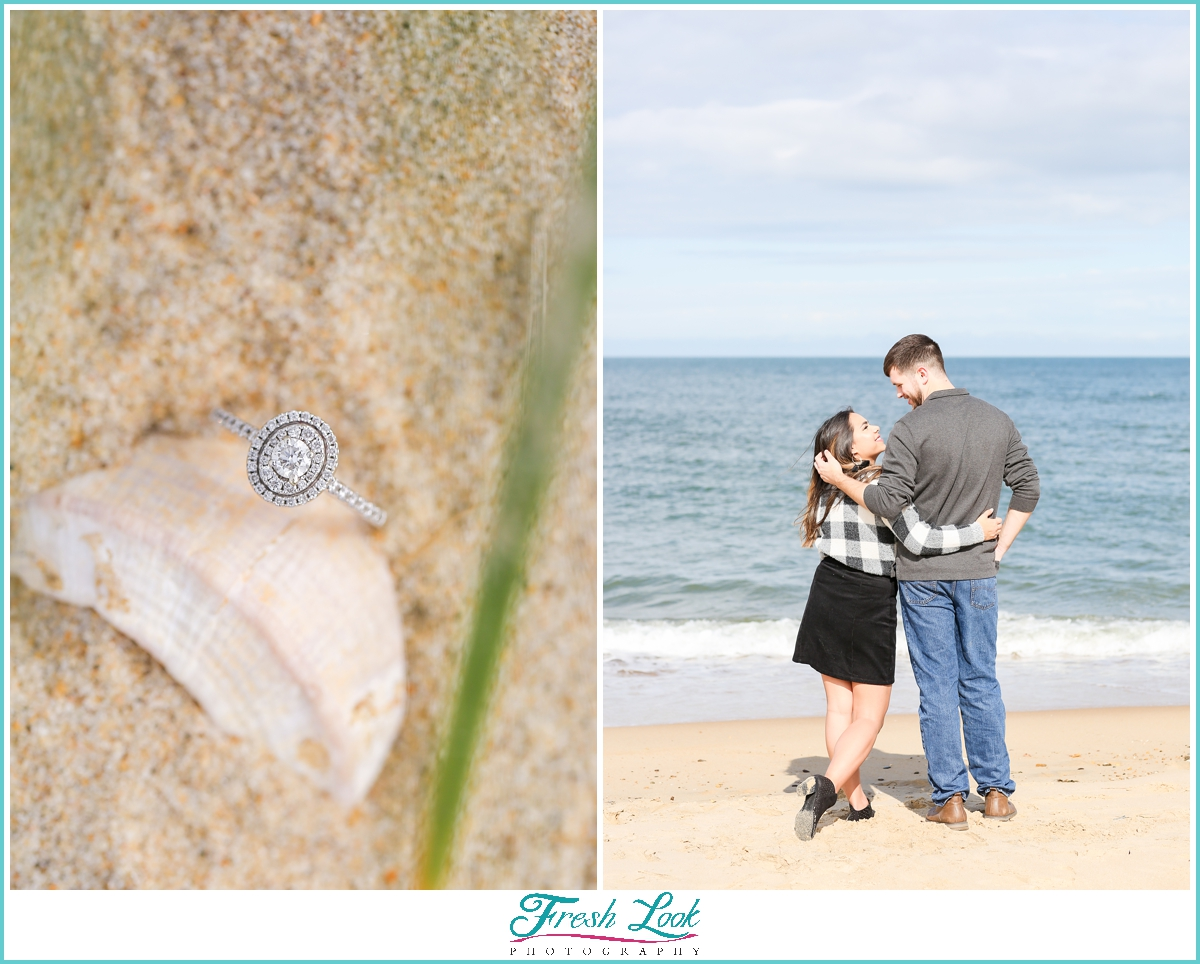 Virginia Beach engagement photo session