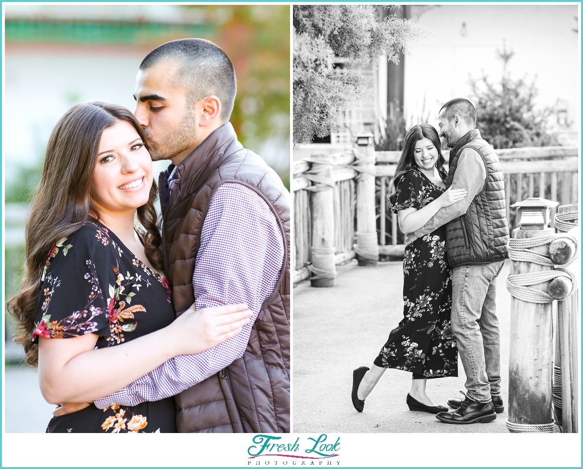 engagement session in Norfolk Virginia