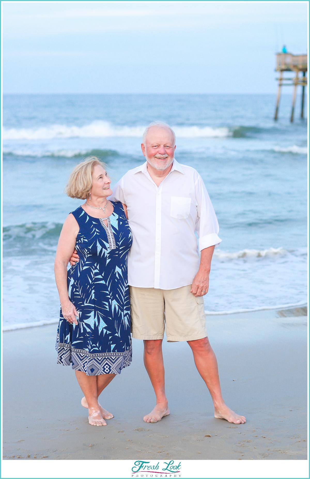 couples beach photoshoot