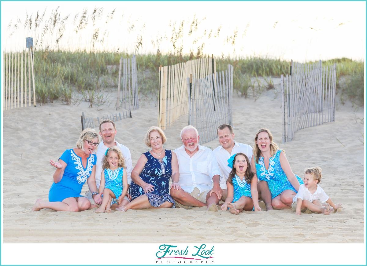 fun Virginia Beach family photos