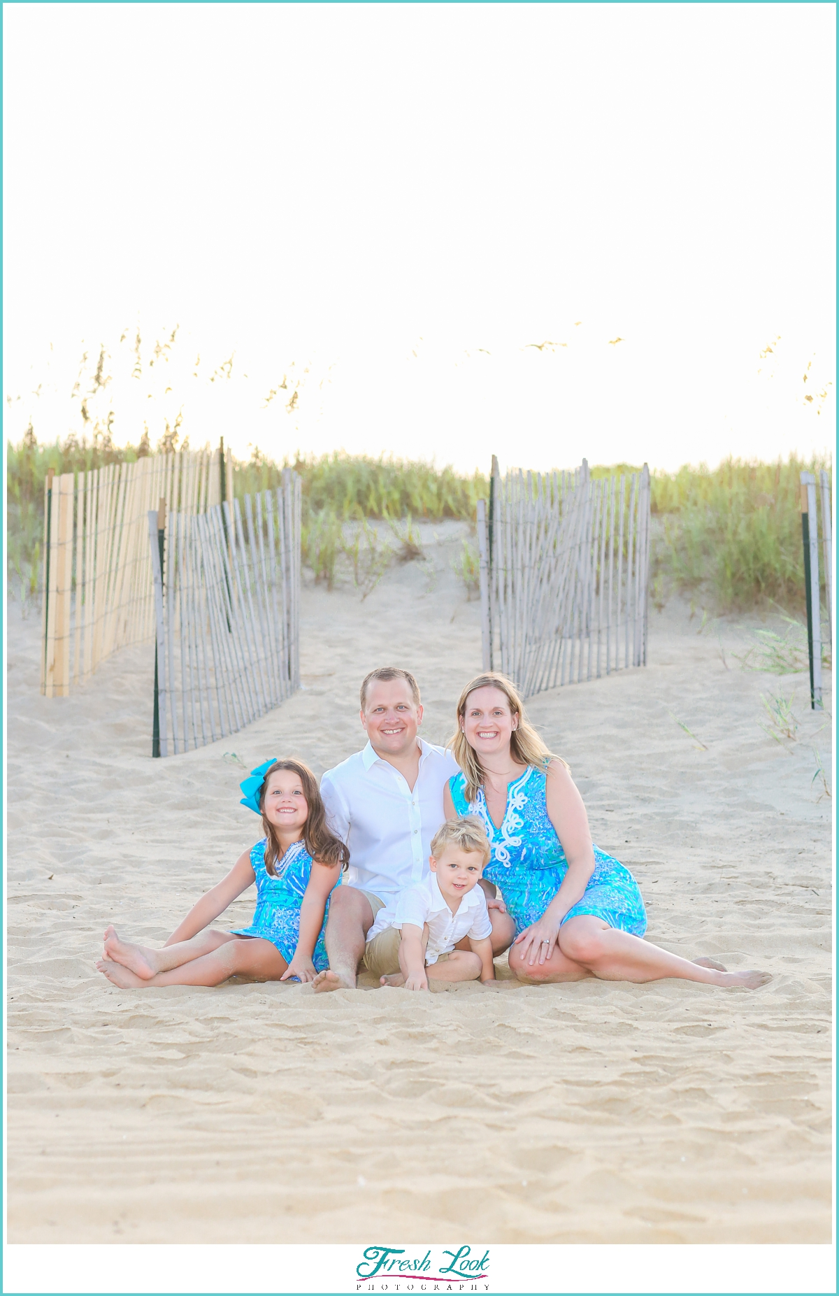 Sandbridge beach family photos