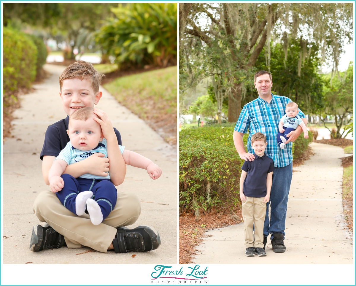 family of three photoshoot