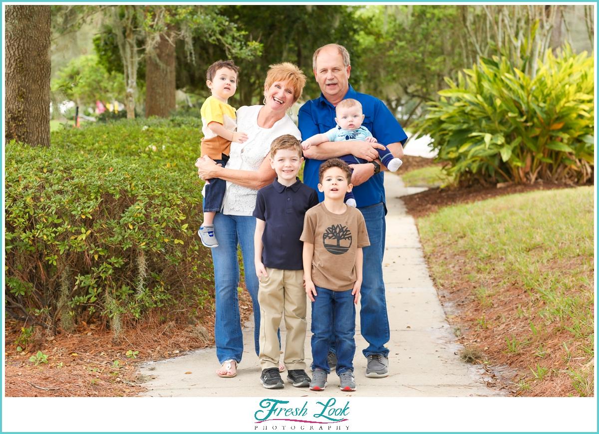fun Florida family photography