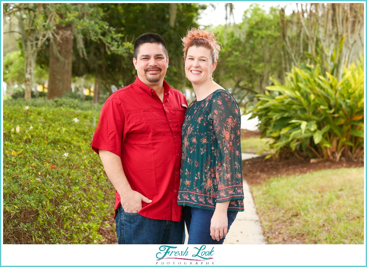 couples photoshoot in Florida