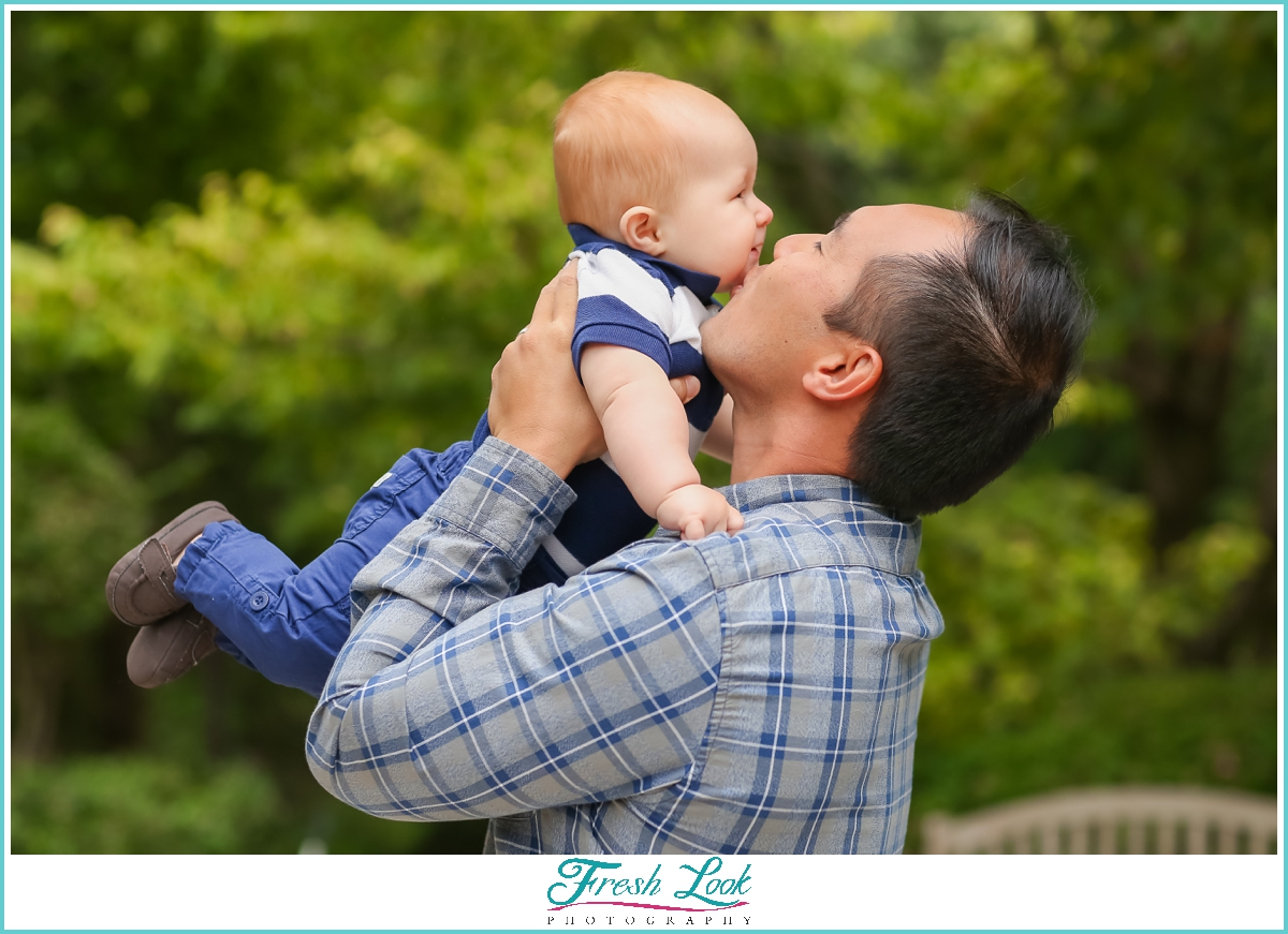 daddy and me photoshoot