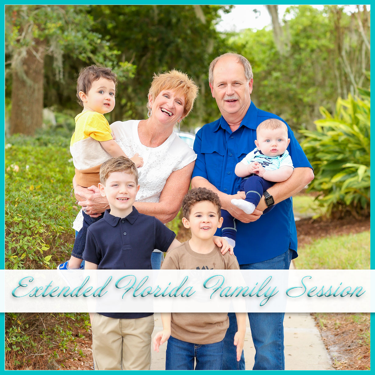 Sunny Florida Family Session