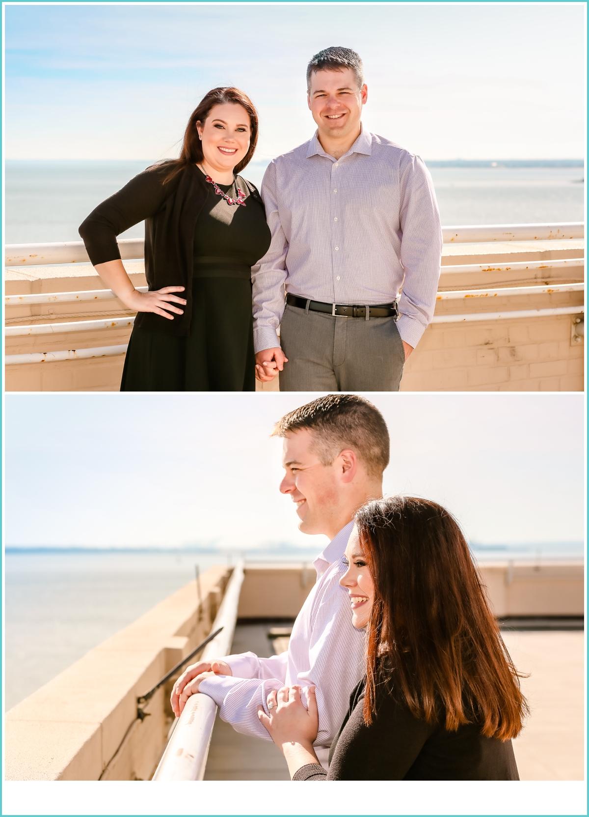 Hampton Virginia engagement photos