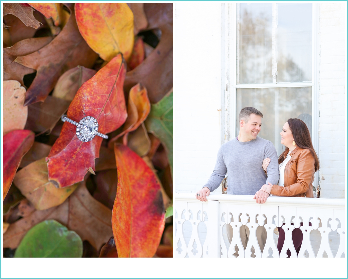 Historic Fort Monroe engagement photos