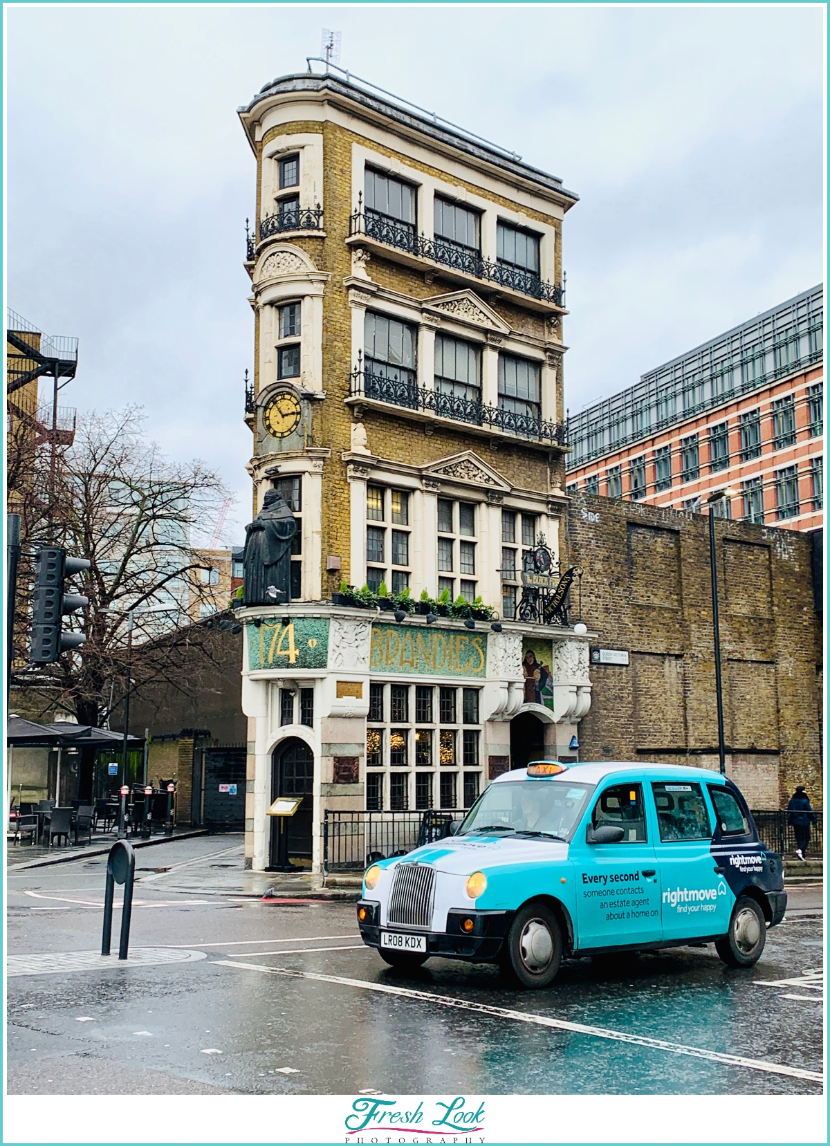 taxi cab in England