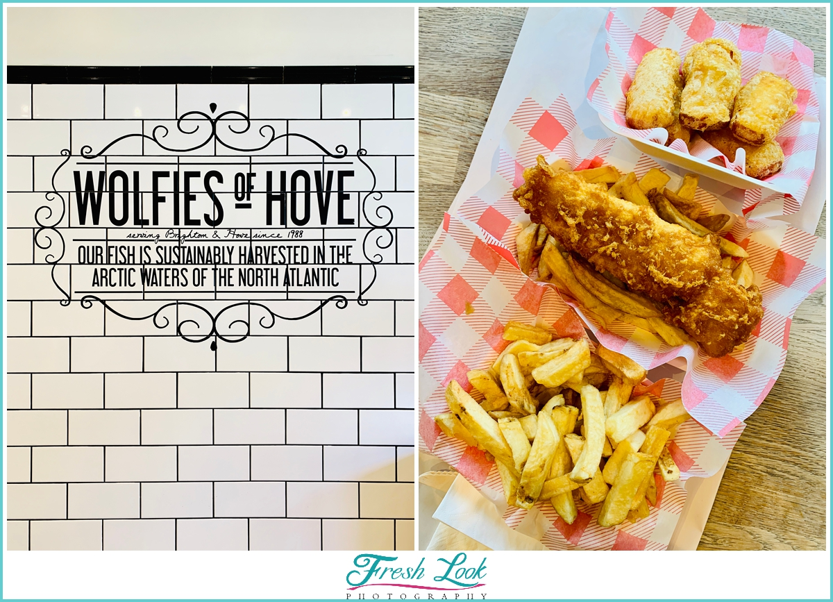 Wolfies of Hove Fish and Chips House