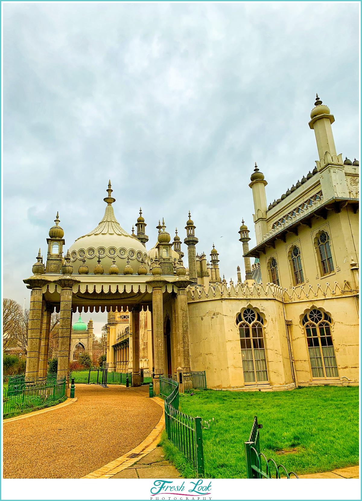 Royal Pavilion in Brighton England