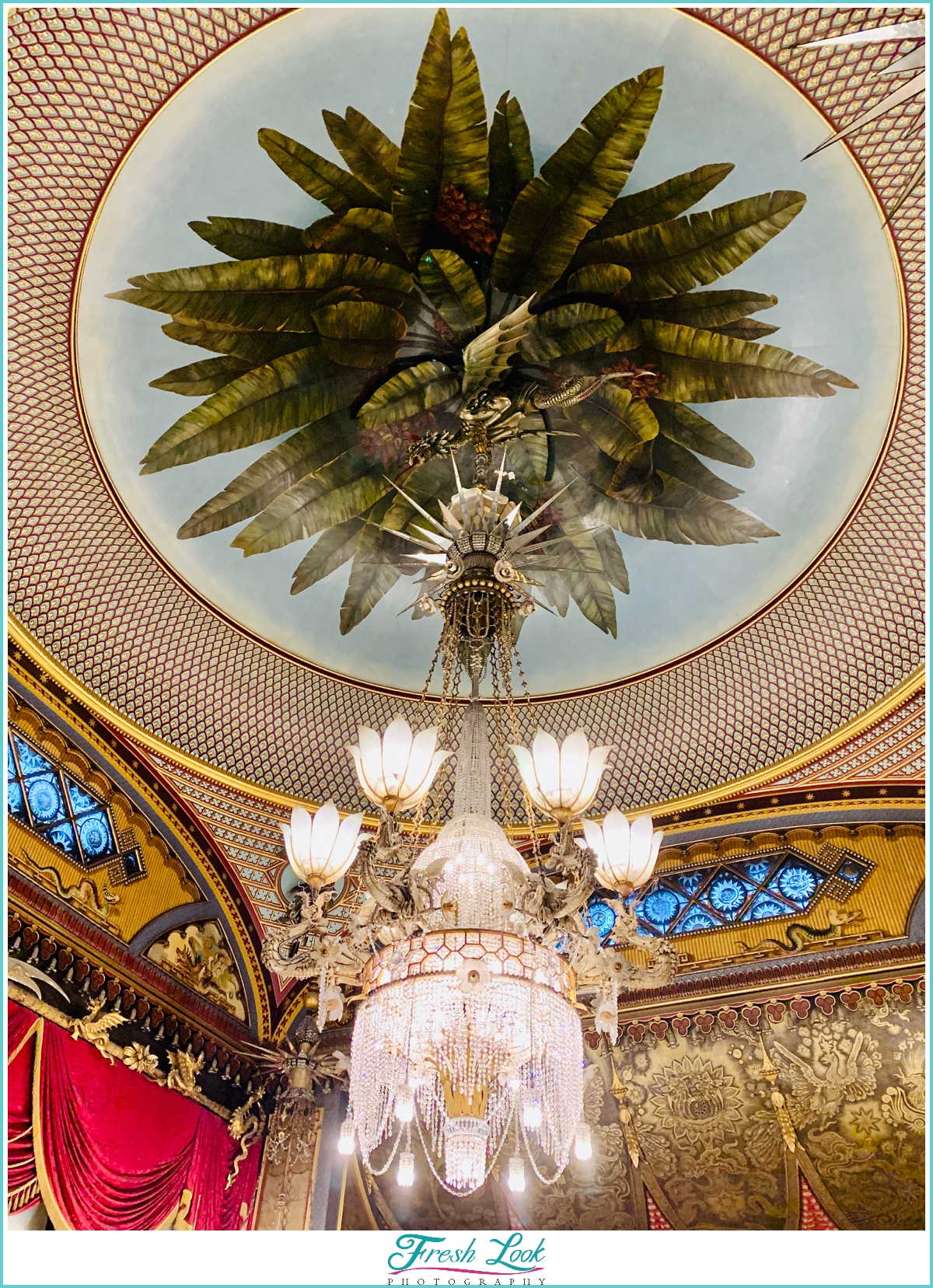 Chandelier at the Royal Pavilion Brighton