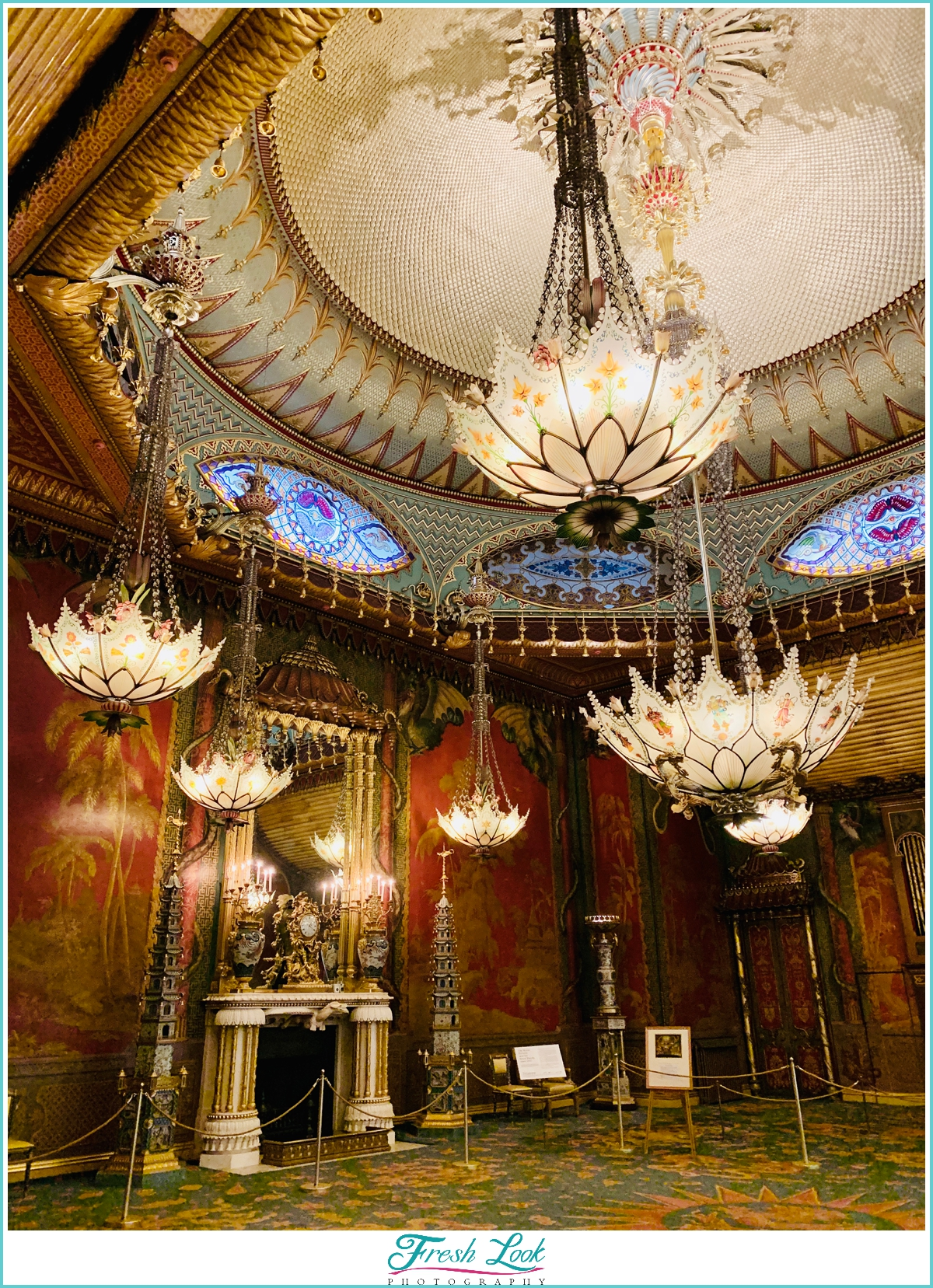 Amazing Chandeliers in the Royal Pavilion