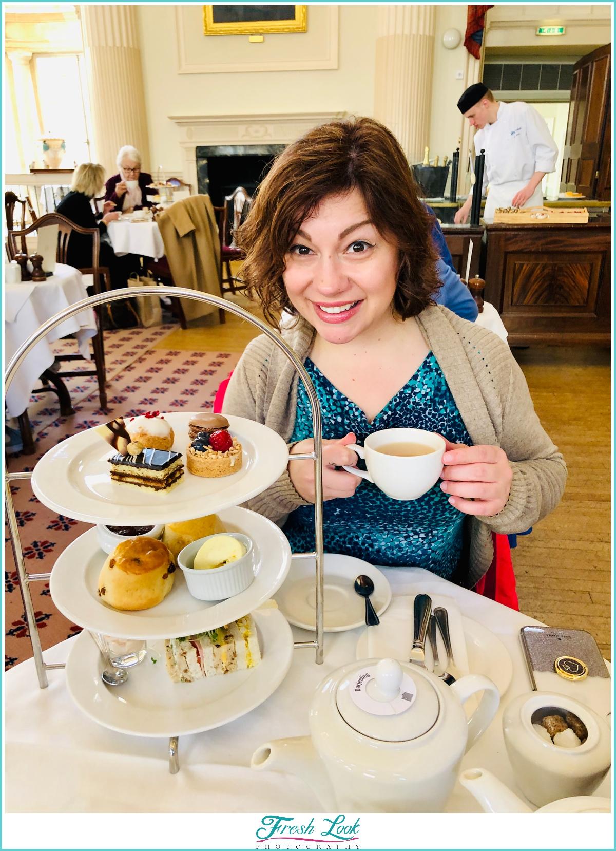 high tea in Bath England