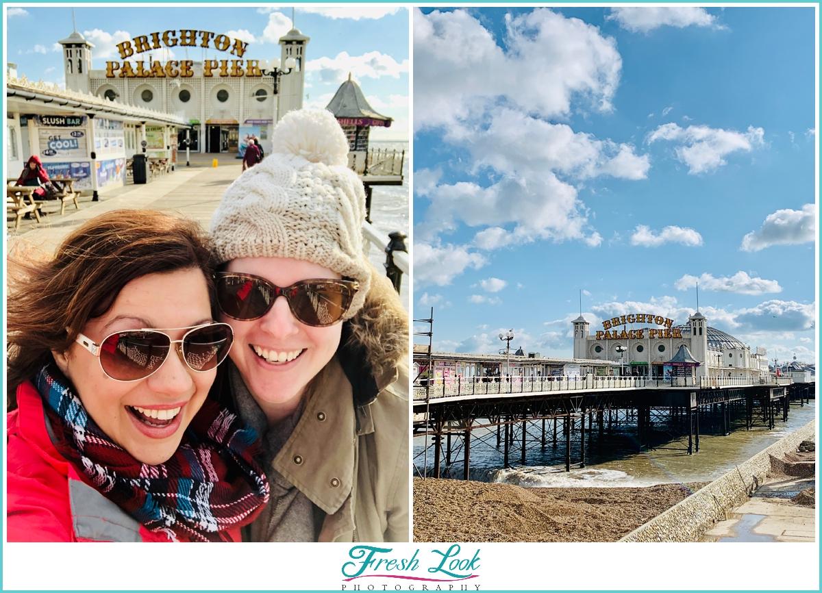 Friends trip to Brighton Pier