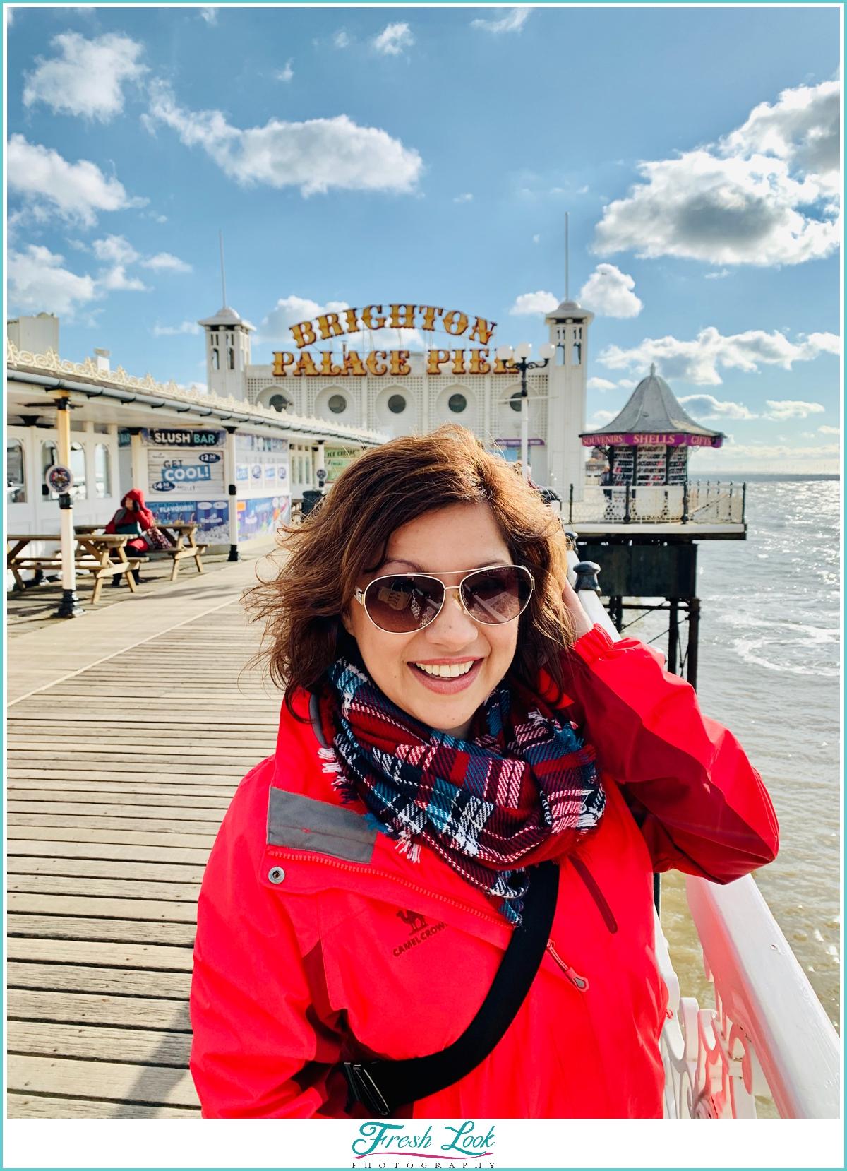 Visiting Brighton Pier England