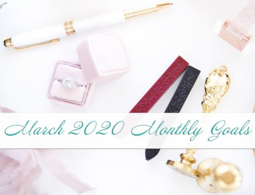 March 2020 Goals | Personal+Professional