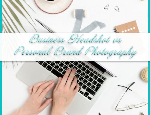 Business Headshots vs Personal Branding Photography
