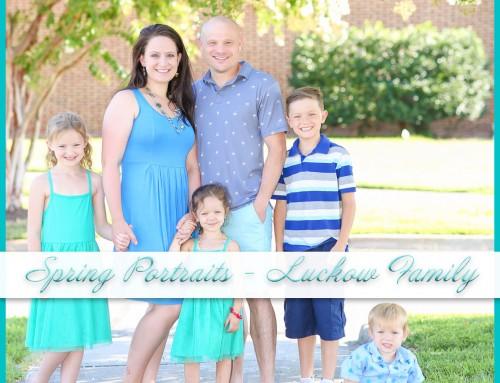 Founders Inn Photoshoot | Luckow Family