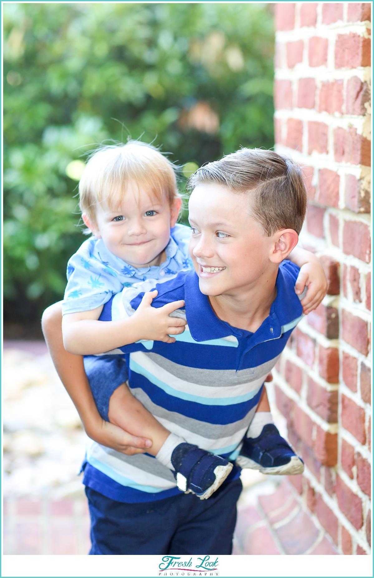 boys will be boys photoshoot