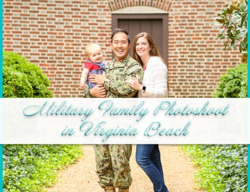 Military Family Photoshoot at Historic House